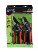 Wilkinson Sword Bypass & Anvil Pruners Twin Pack - In Presentation Box